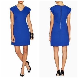KATE SPADE NY royal blue ponte dress